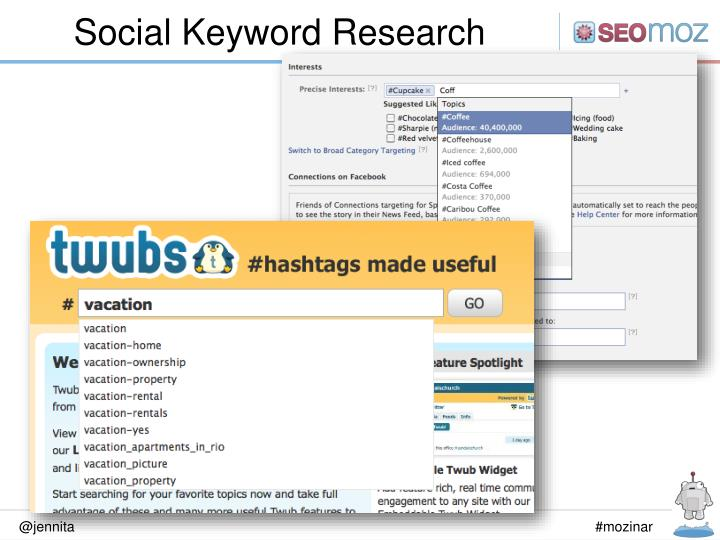 Social Keyword Research