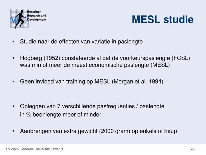 MESL studie
