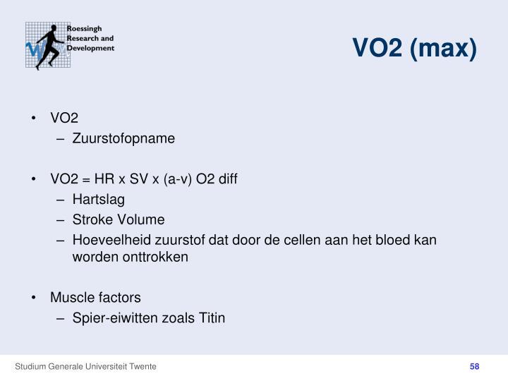 VO2 (max)