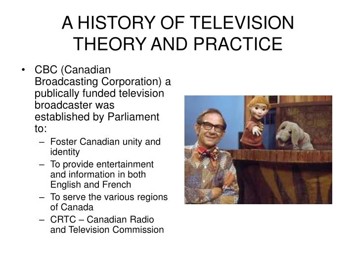 A history of television theory and practice1
