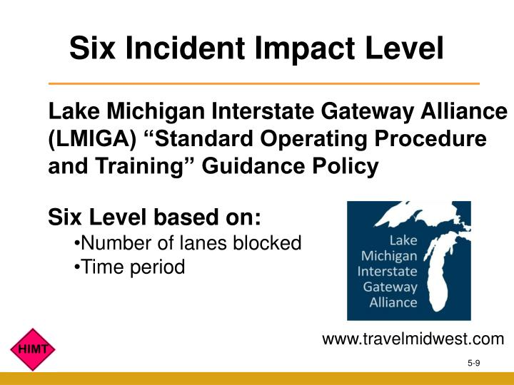 Six Incident Impact Level