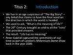 titus 2 introduction