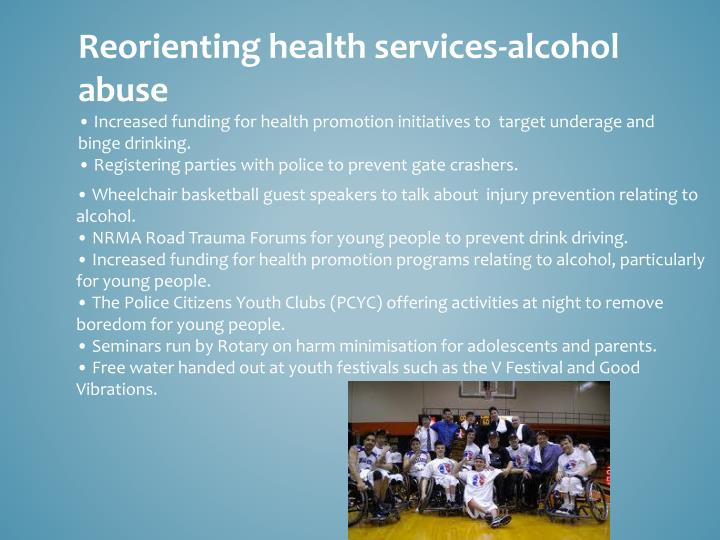 Reorienting health