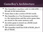 gameboy s architecture
