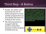 third step 8 button