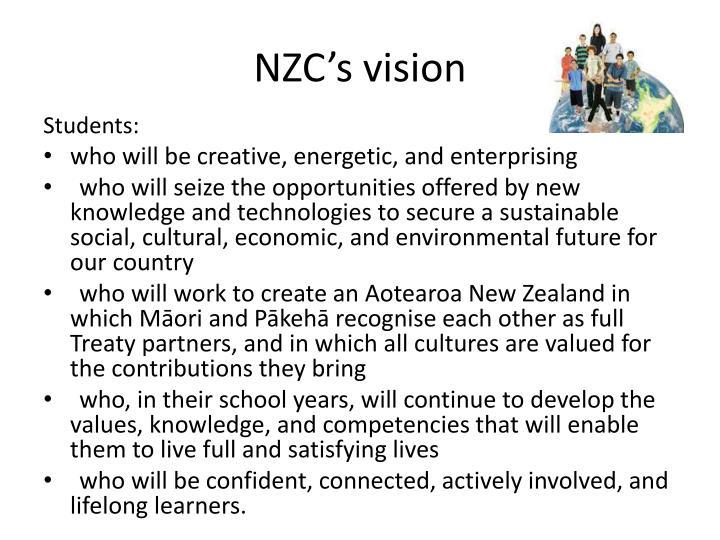 NZC's vision