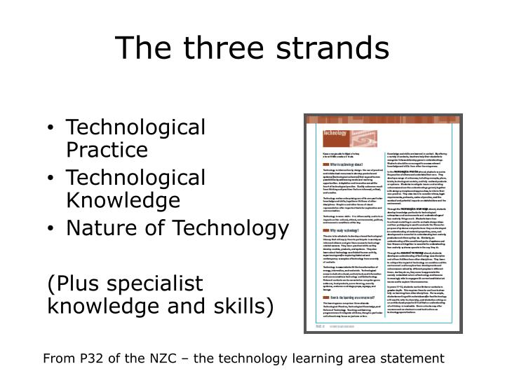 The three strands