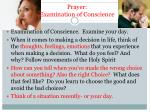 prayer examination of conscience