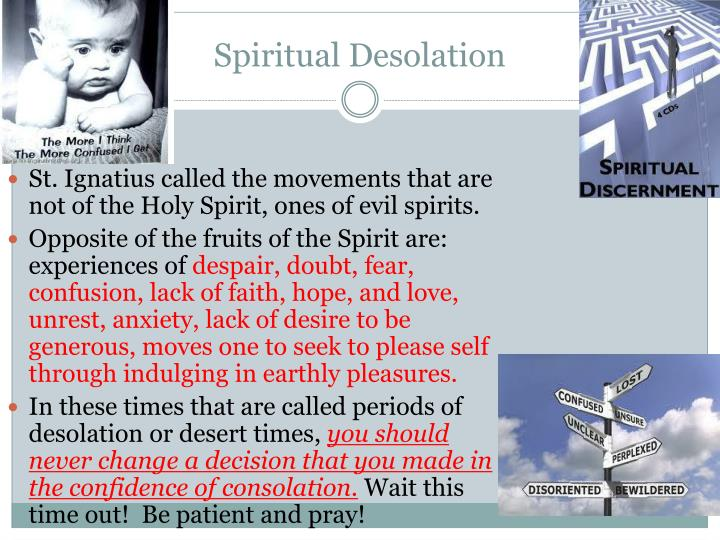Spiritual Desolation