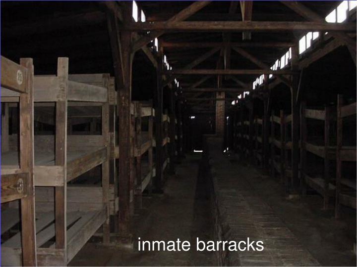 inmate barracks