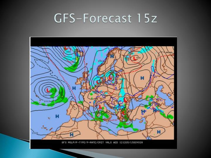 GFS-Forecast 15z