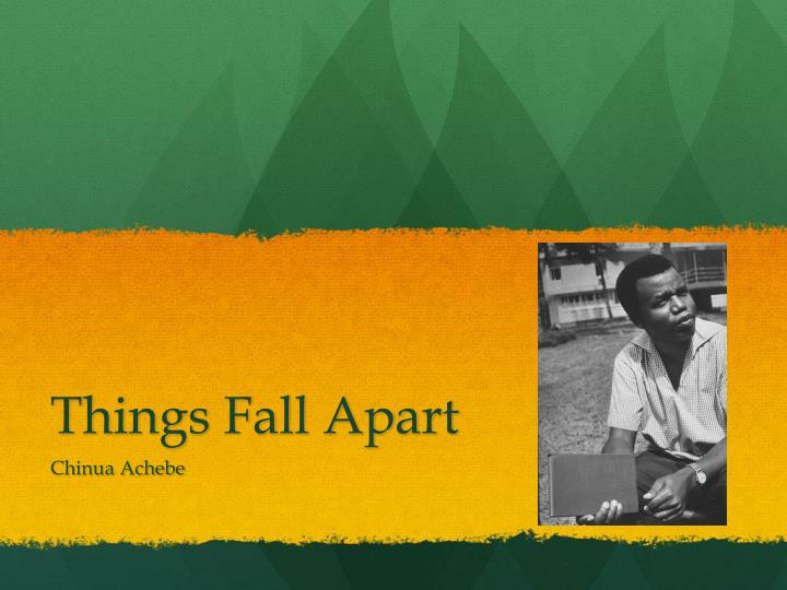 Essays on things fall apart