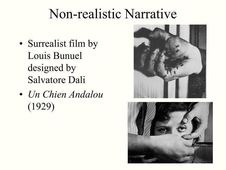 Non-realistic Narrative