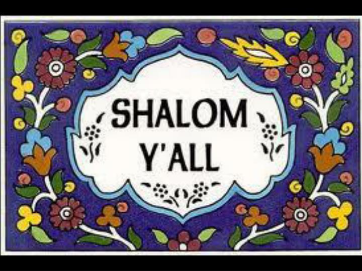 Becoming an agent of shalom