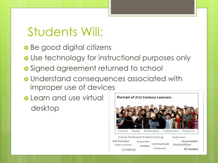 Students Will: