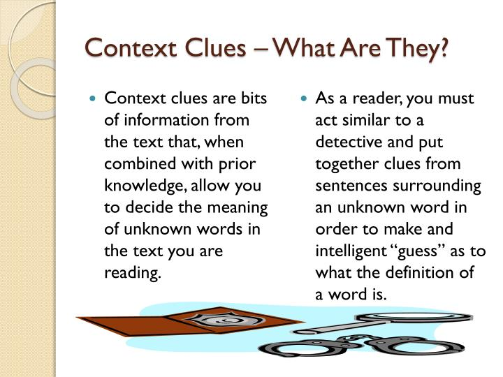 Context Clues – What Are They?