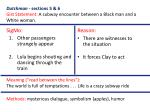 dutchman sections 5 6 gist statement a subway encounter between a black man and a white woman