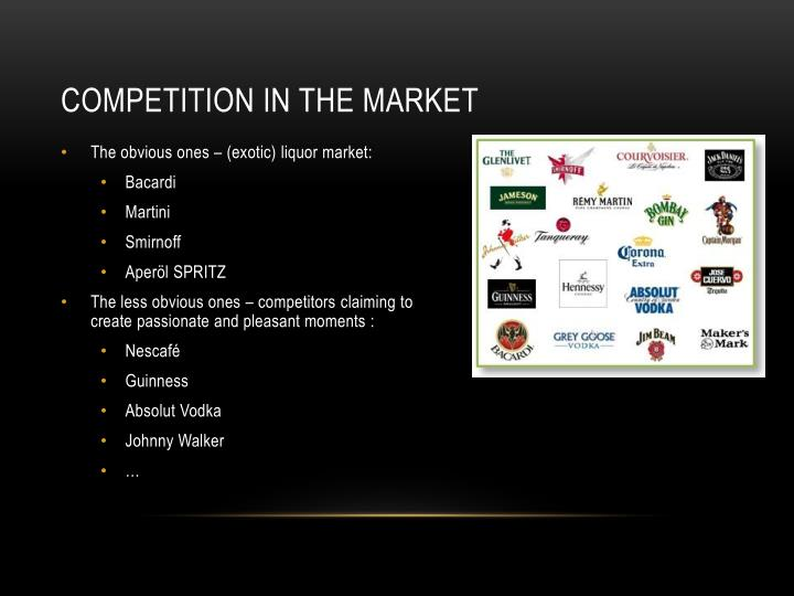 COMPETITION IN THE MARKET