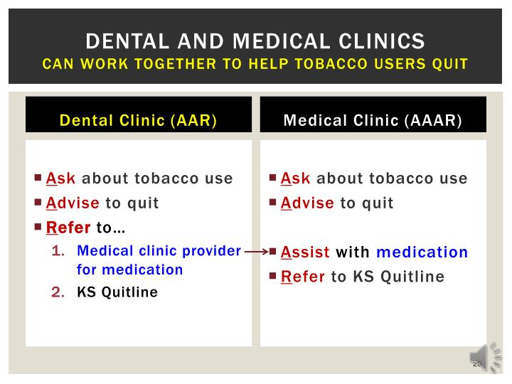 Dental and medical clinics