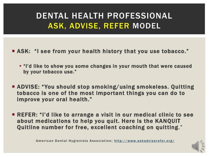 Dental Health Professional