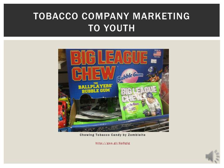 Tobacco Company Marketing
