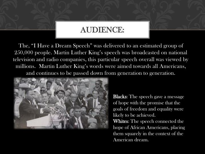 ppt presentation mlk When people think of martin luther king jr,they think of a great leader on the  other hand, when people think of jim jones, they think of a crazy.