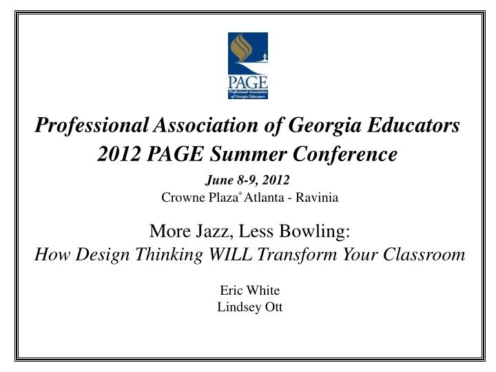 Professional Association of Georgia Educators