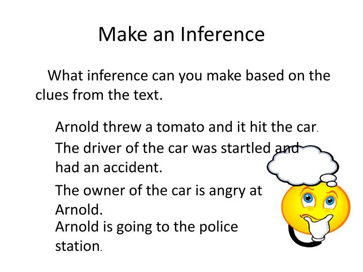 Make an Inference