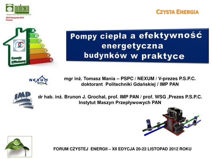Pompy ciepła a efektywność energetyczna
