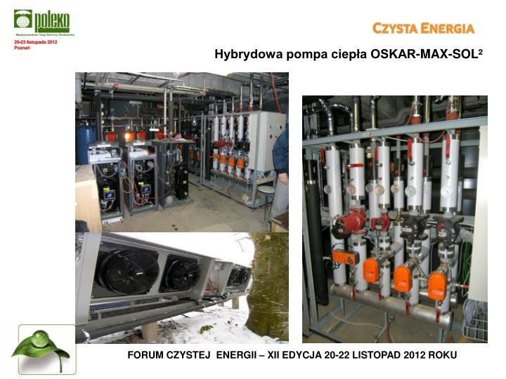 Hybrydowa pompa ciepła OSKAR-MAX-SOL²