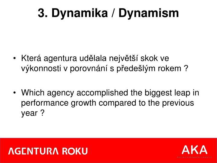 3. Dynamika /