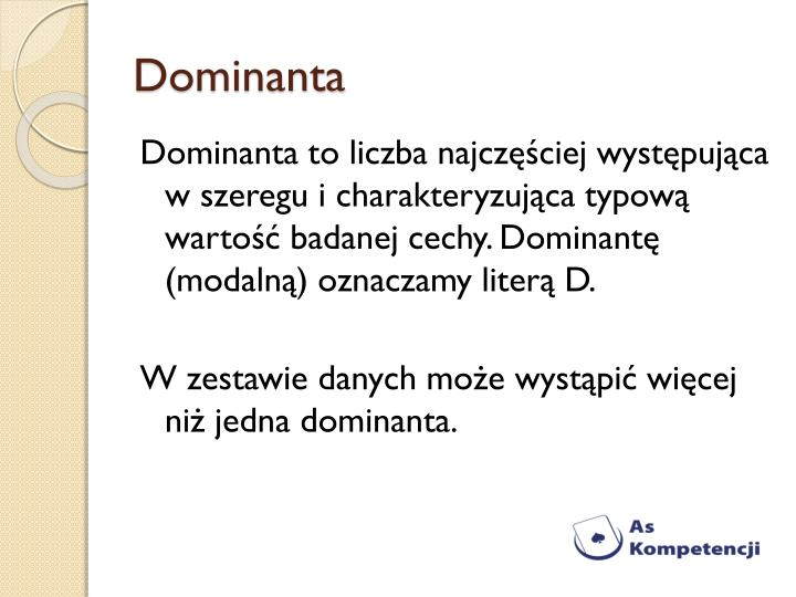 Dominanta