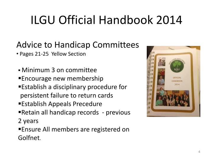 ILGU Official Handbook 2014