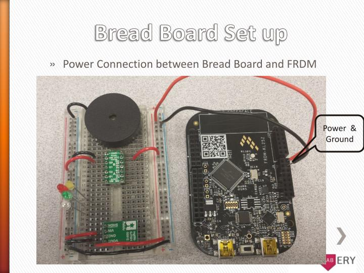 Power Connection between Bread Board and FRDM
