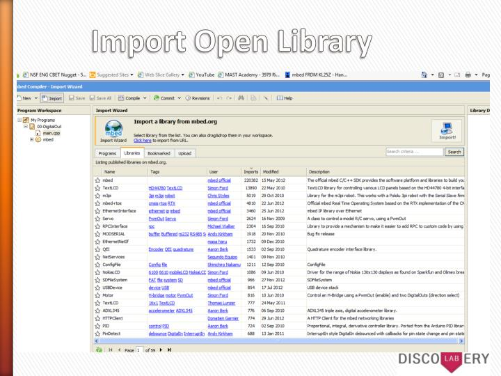 Import Open