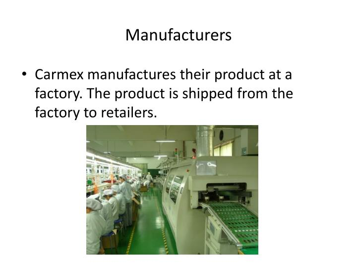 Manufacturers
