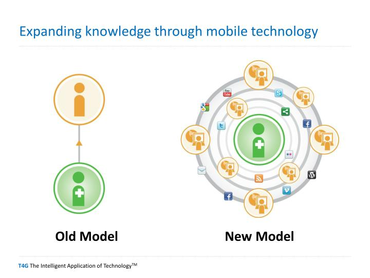 Expanding knowledge through mobile technology
