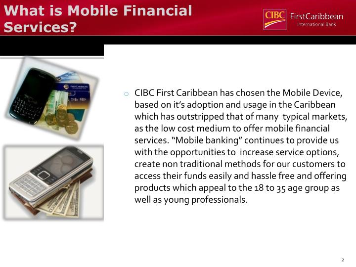 What is Mobile Financial Services?