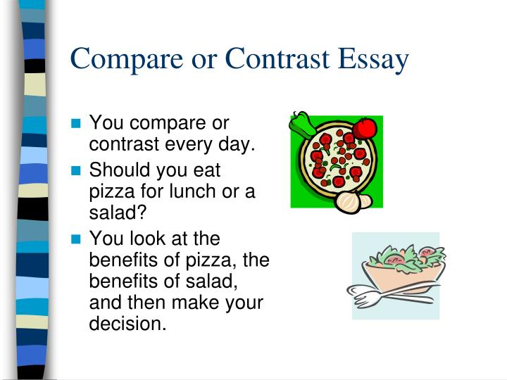 compare and contrast computers essay