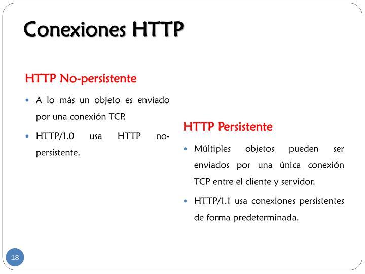 Conexiones HTTP