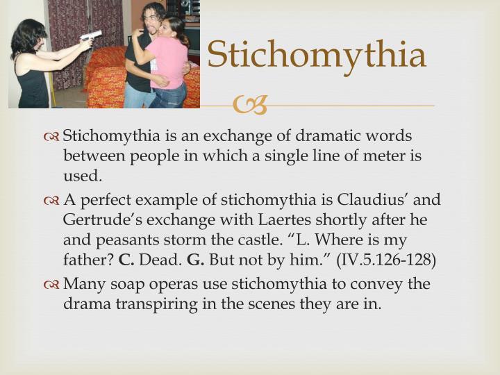 Stichomythia