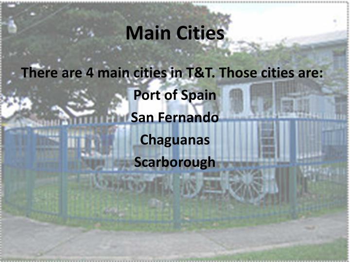 Main Cities