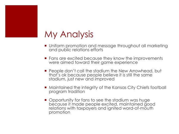 My Analysis