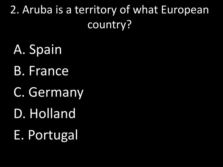2. Aruba