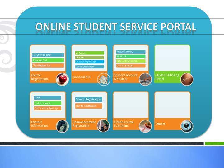 Online Student Service Portal