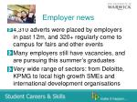employer news
