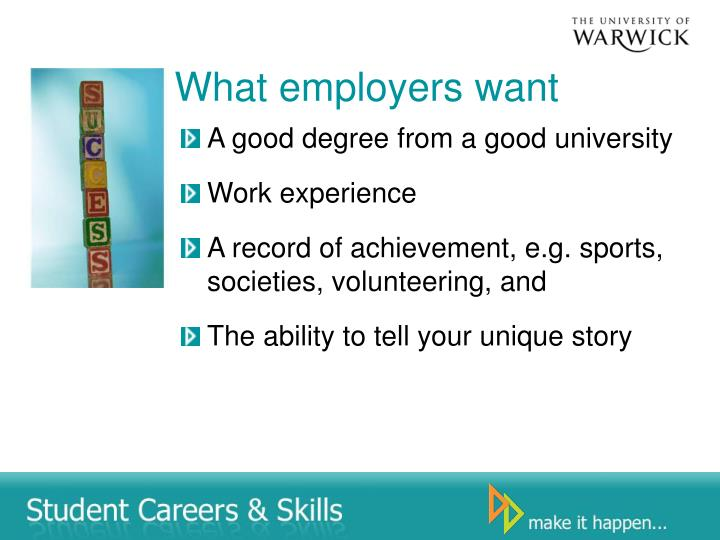What employers