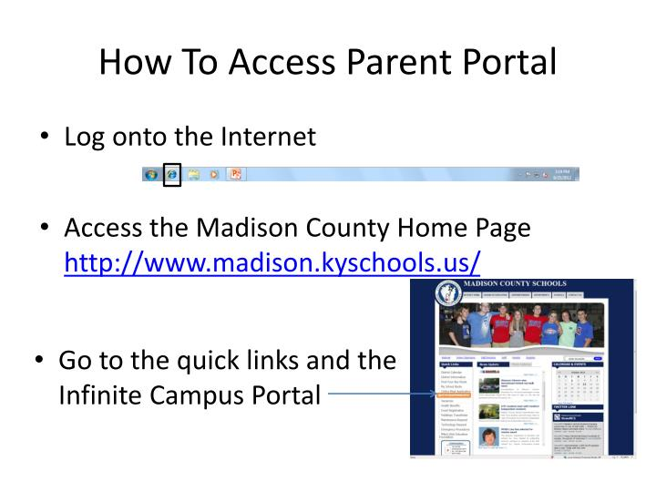 How To Access Parent Portal