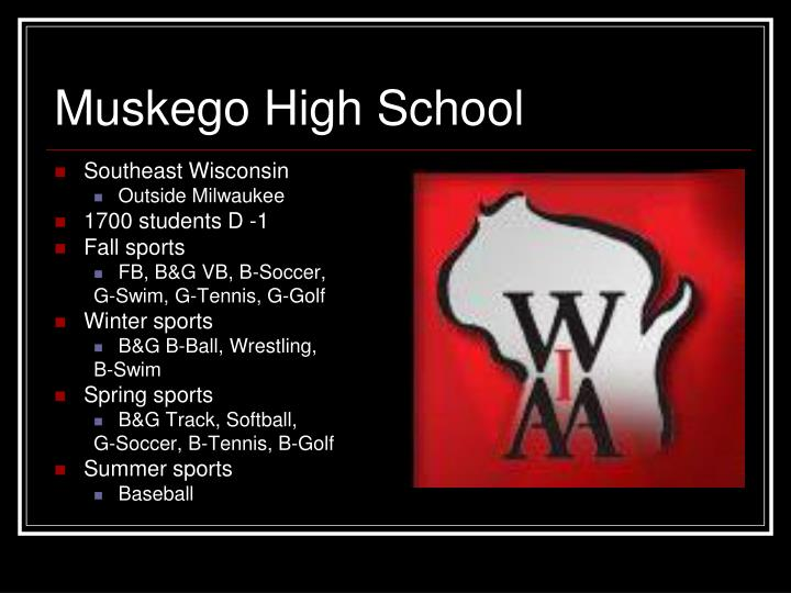 Muskego high school