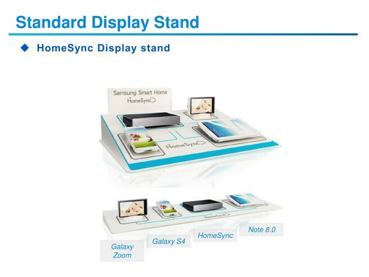 Standard Display Stand